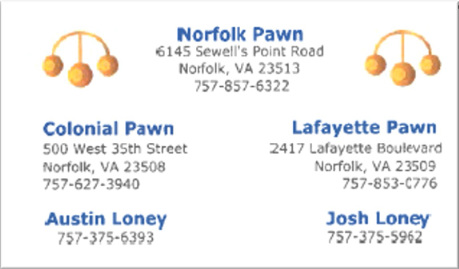Norfolk Pawn